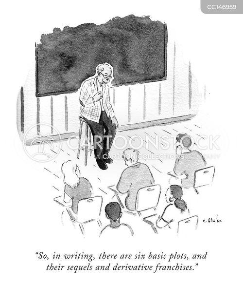derivative cartoon