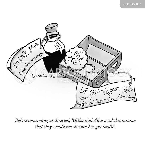 gluten free cartoon