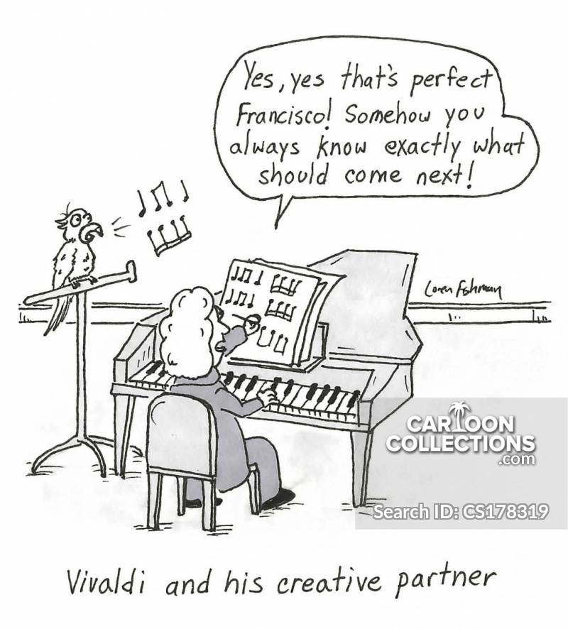 Vivaldi cartoon