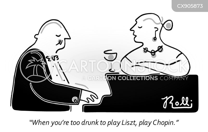 frederic chopin cartoon