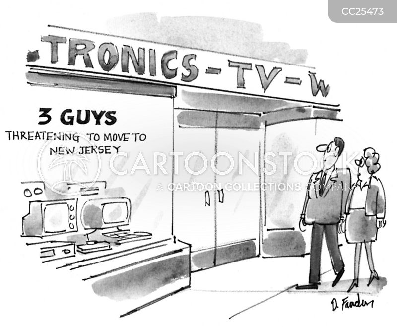 retail store cartoon