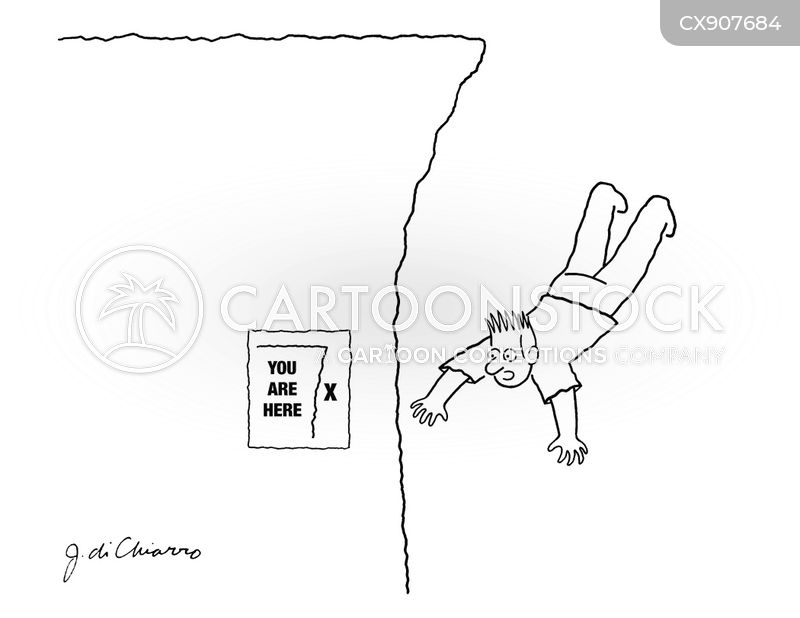 jumped cartoon