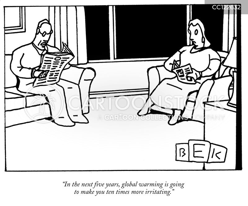 Green Issues cartoon