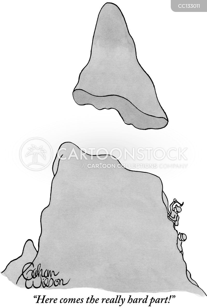 Mountains cartoon