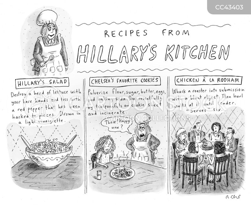 Clintons cartoon