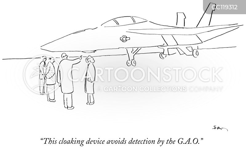 Cloaking Devices cartoon