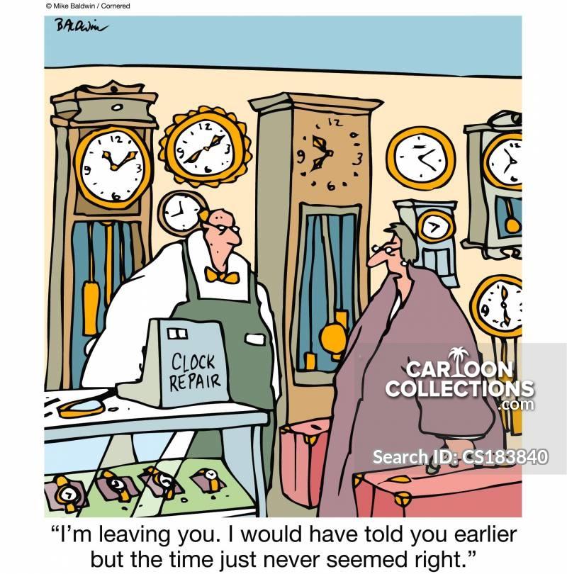 watchmaker cartoon