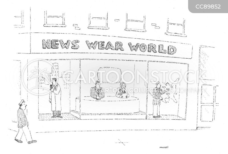 nightly newscasts cartoon