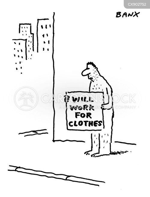 jobless cartoon