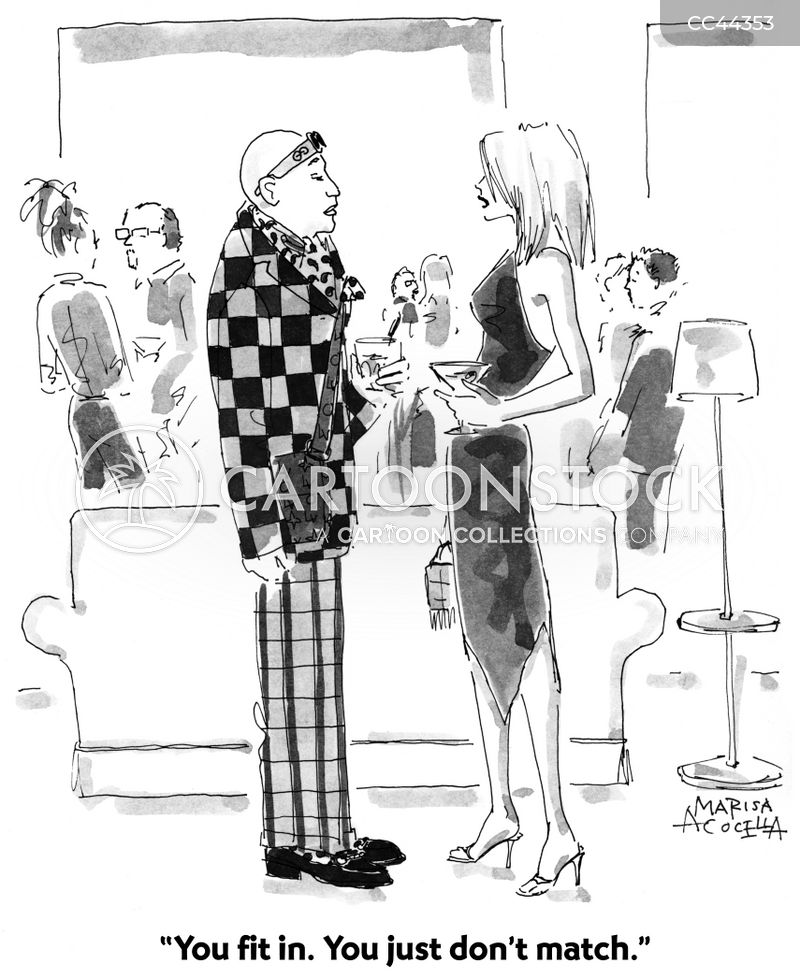 fashion police cartoon