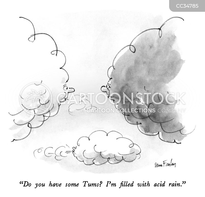 stomach acid cartoon