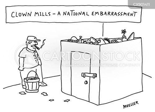 clowning cartoon
