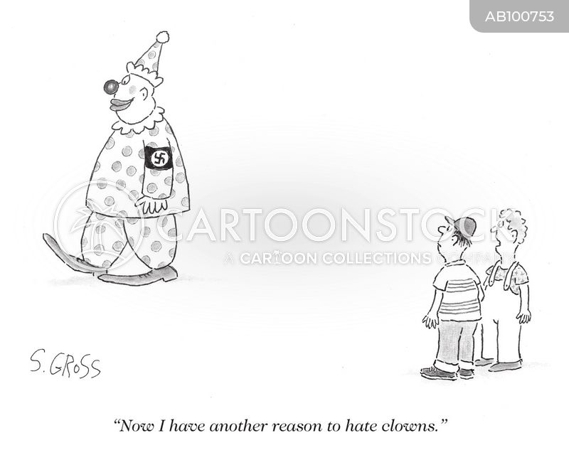 Hatred cartoon