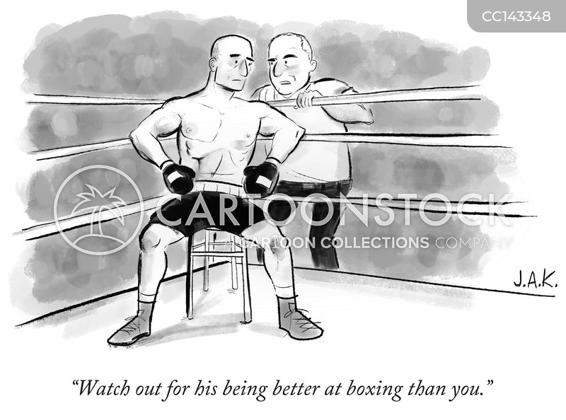 competitive cartoon