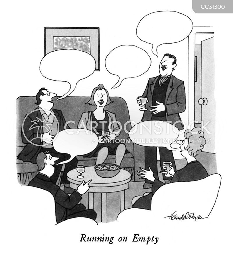running on empty cartoon