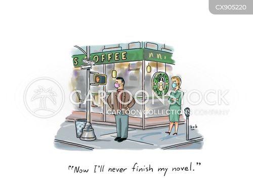 coffee chain cartoon