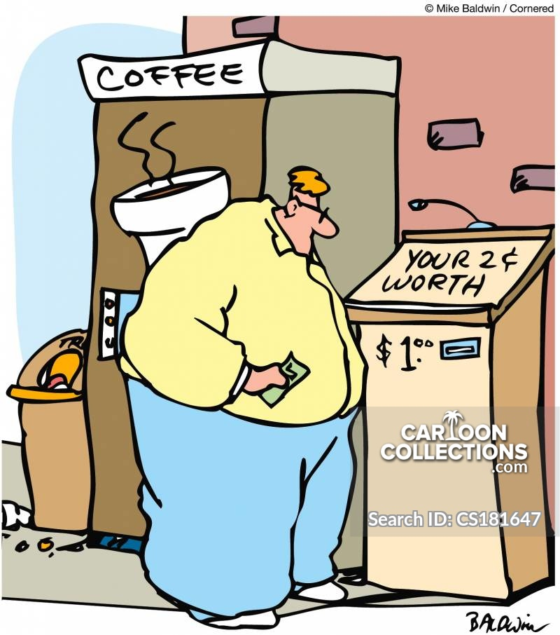 Coffee Machine cartoon