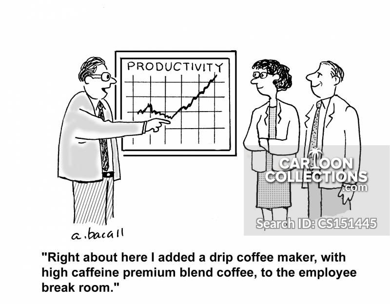Productivity Level cartoon