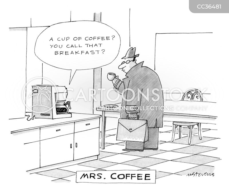 Coffee Machines cartoon