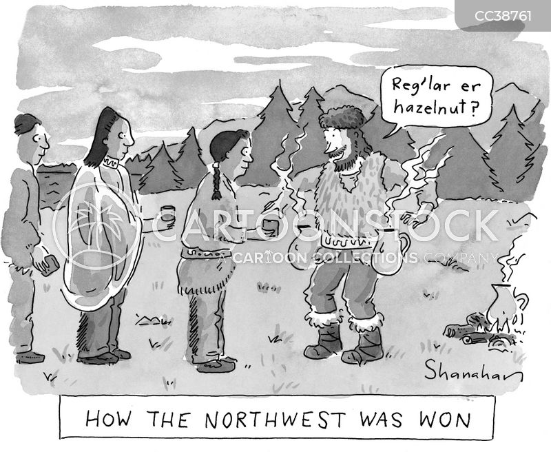 north cartoon