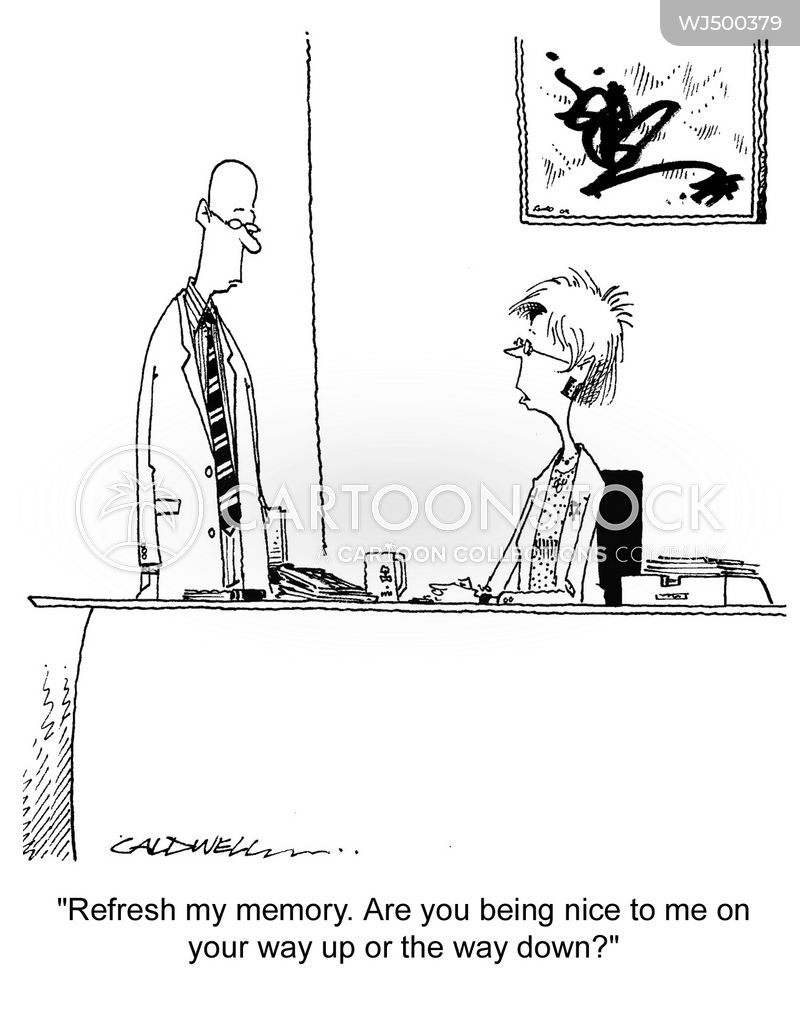 executive assistants cartoon