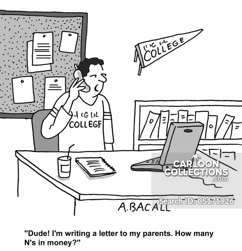 College Educations cartoon