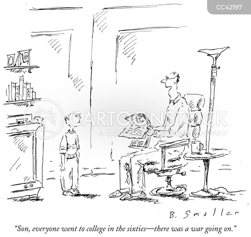 College Deferments cartoon