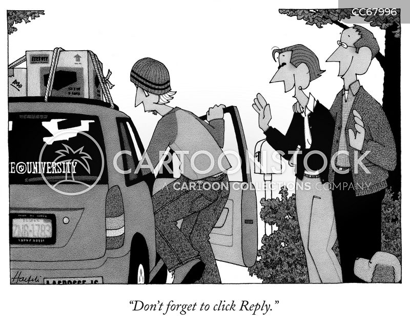 keep in contact cartoon