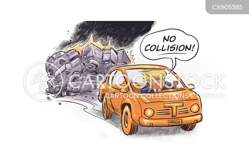 dangerous driving cartoon