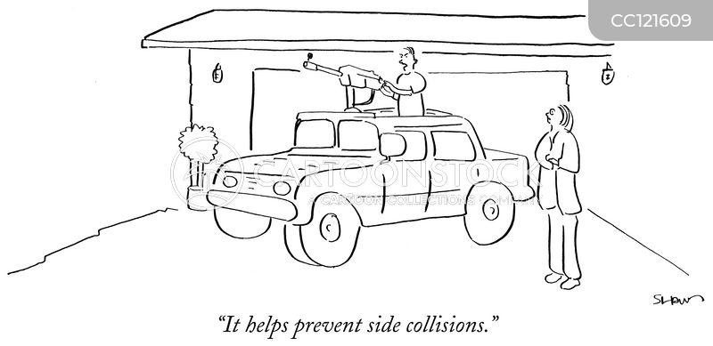 gun mount cartoon