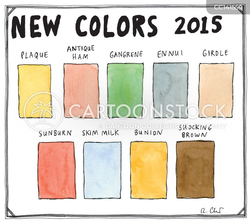 Colour cartoon