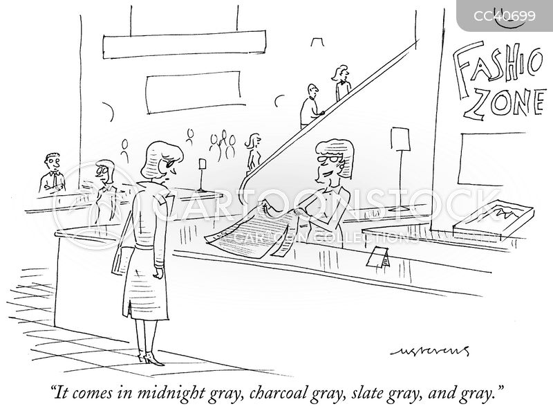 grey cartoon