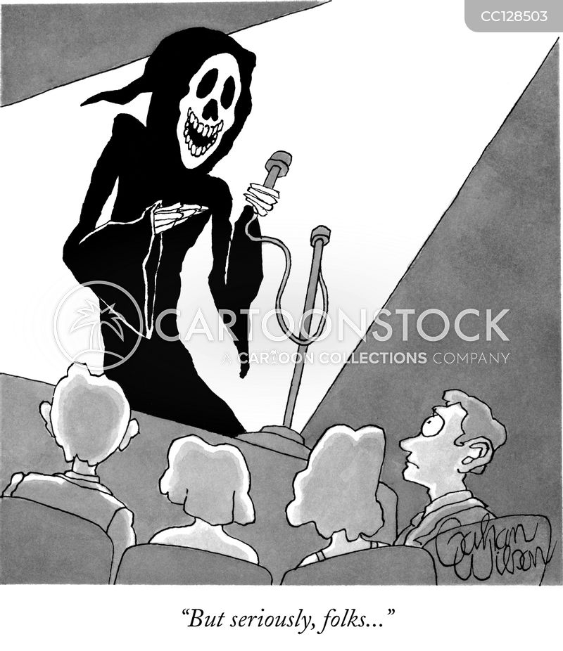 angel of death cartoon