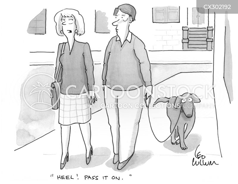 heel cartoon
