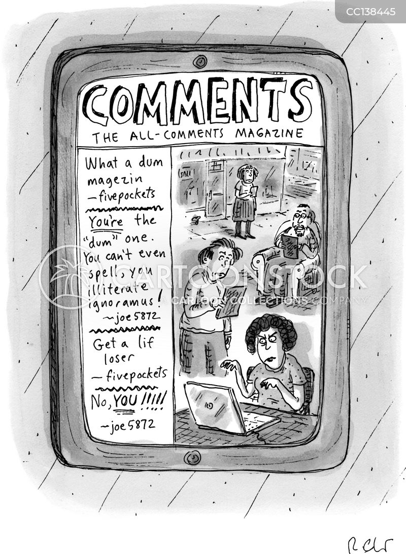 comment cartoon