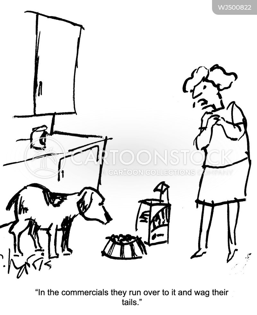 dog foods cartoon