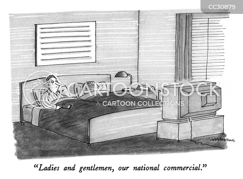 commercial breaks cartoon