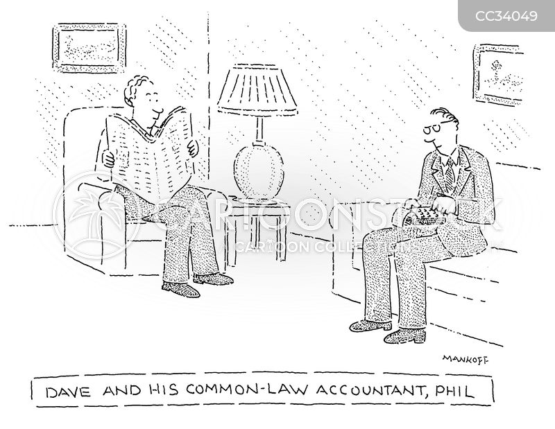 common-law partners cartoon