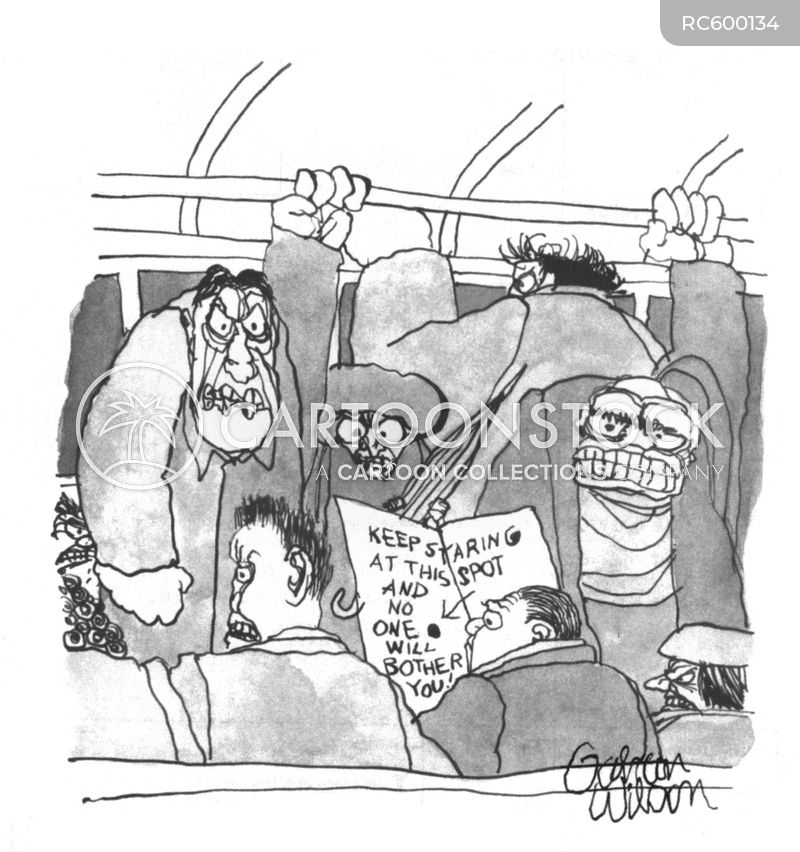 subway line cartoon