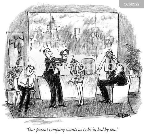manage cartoon