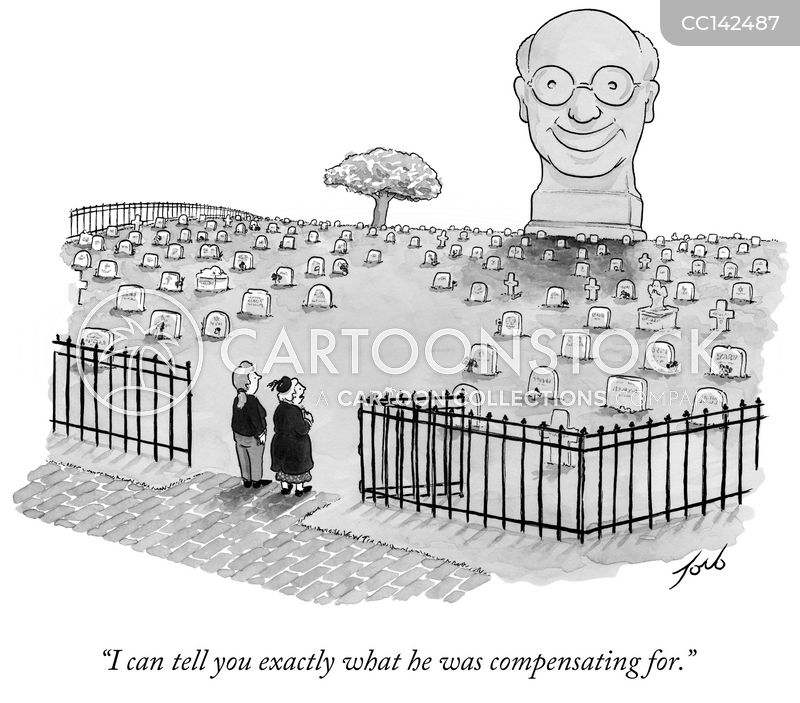 compensating cartoon