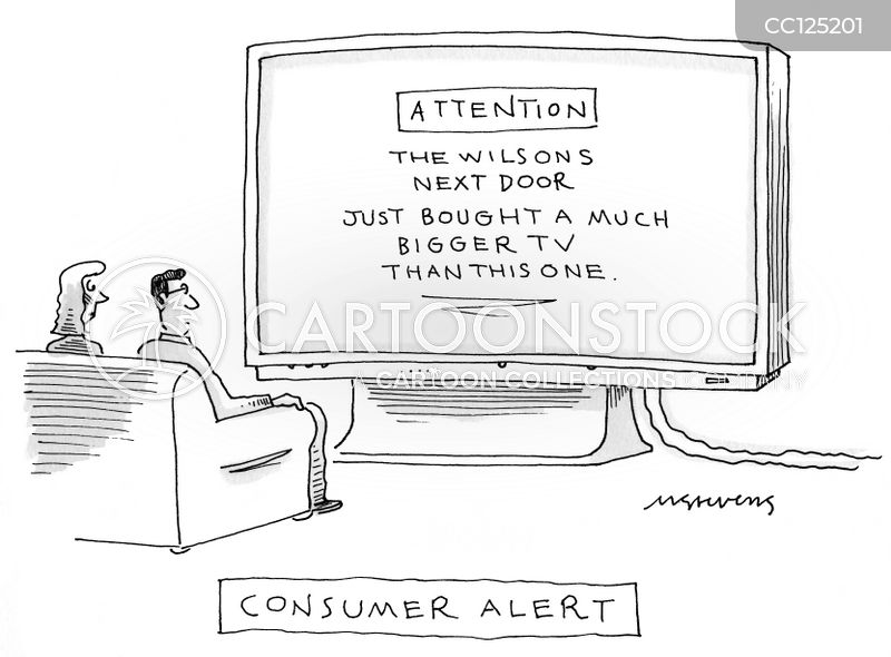 tv screens cartoon