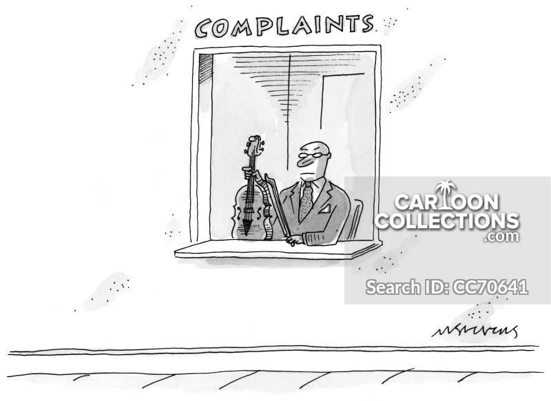 complaints departments cartoon