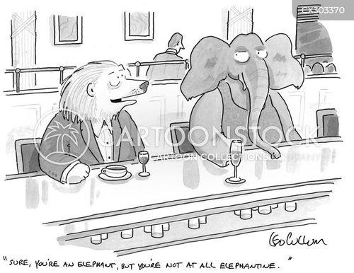 elephantine cartoon