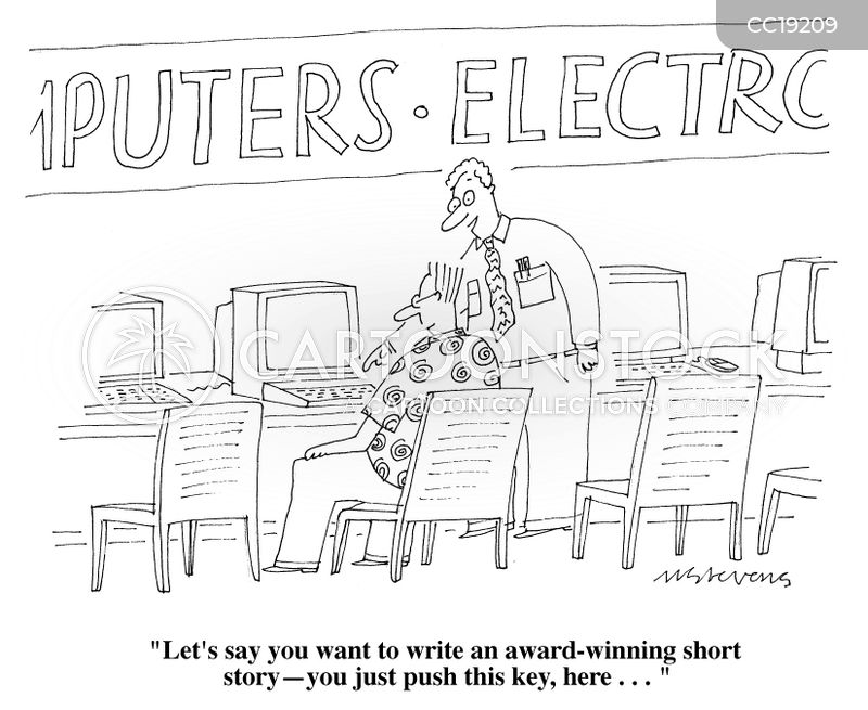 sales pitch cartoon
