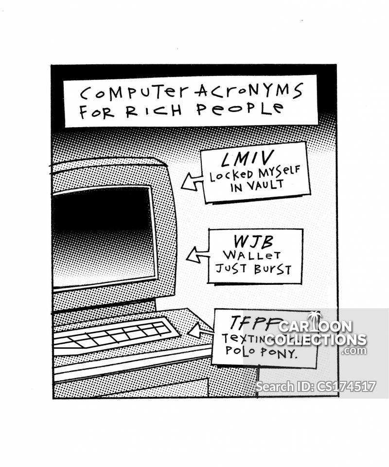 computer acronym cartoon