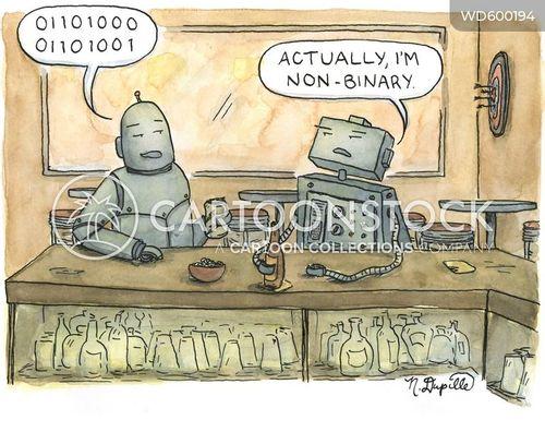computer language cartoon