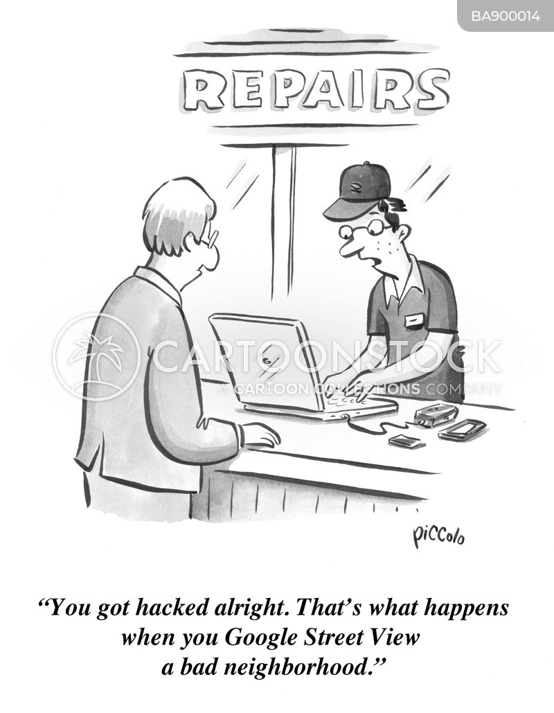 hack cartoon