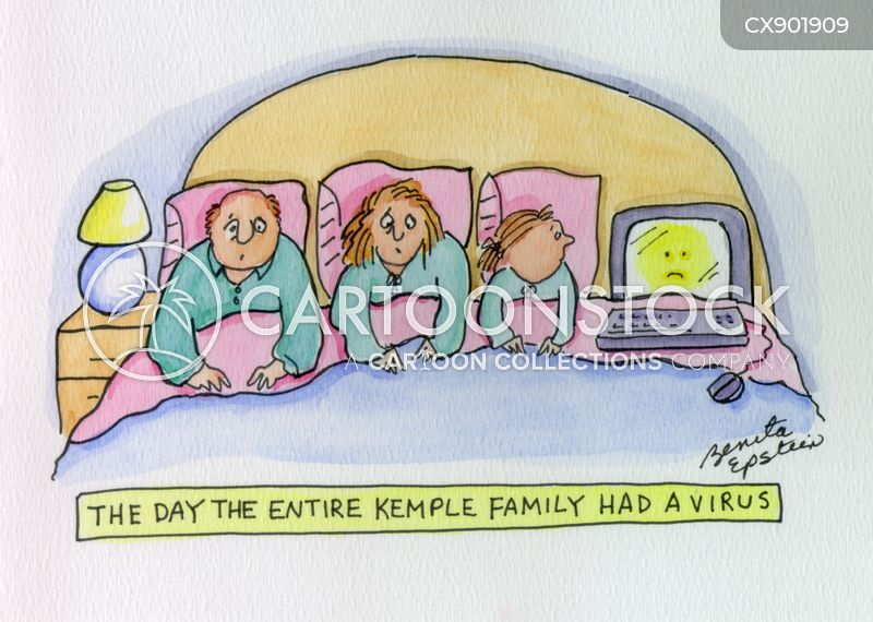 sick day cartoon