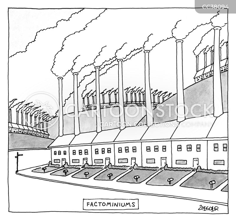 condominium cartoon